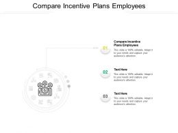 Compare Incentive Plans Employees Ppt Powerpoint Presentation Summary Maker Cpb
