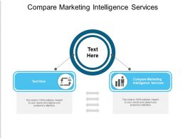 Compare Marketing Intelligence Services Ppt Powerpoint Presentation Infographics Portfolio Cpb