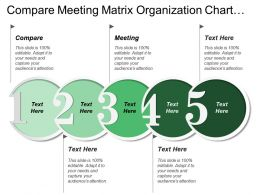 Compare Meeting Matrix Organization Chart Top Management