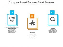 Compare Payroll Services Small Business Ppt Powerpoint Presentation Infographics Portrait Cpb