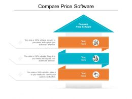Compare Price Software Ppt Powerpoint Presentation Icon Inspiration Cpb