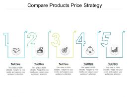 Compare Products Price Strategy Ppt Powerpoint Presentation Styles Graphics Tutorials Cpb