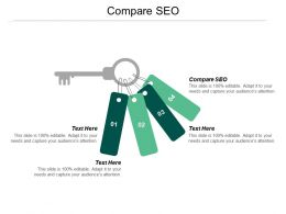 Compare SEO Ppt Powerpoint Presentation File Graphics Download Cpb
