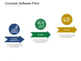 Compare Software Price Ppt Powerpoint Presentation Slides Professional Cpb