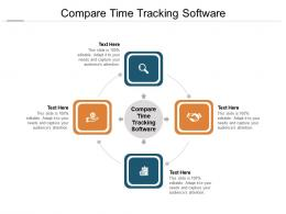 Compare Time Tracking Software Ppt Powerpoint Presentation Infographic Template Themes Cpb