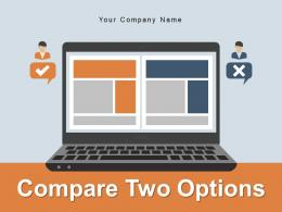Compare Two Options Business Proposals Organizations Product Innovation Performance