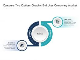 Compare Two Options Graphic End User Computing Market Infographic Template