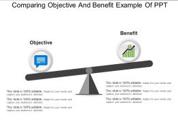 Comparing Objective And Benefit Example Of Ppt