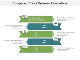 Comparing Prices Between Competitors Ppt Powerpoint Presentation Show Slide Portrait Cpb