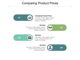 Comparing Product Prices Ppt Powerpoint Presentation Summary Designs Cpb