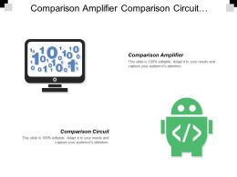 Comparison Amplifier Comparison Circuit Triangular Wave Synchronized Supply Voltage