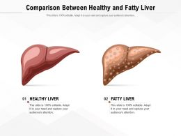 Comparison Between Healthy And Fatty Liver