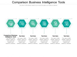 Comparison Business Intelligence Tools Ppt Powerpoint Presentation Gallery Cpb