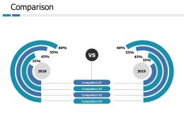 Comparison Business Ppt Portfolio Slide Portrait