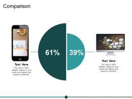 Comparison Business Ppt Powerpoint Presentation Summary Skills