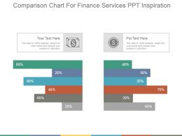 Comparison Chart For Finance Services Ppt Inspiration