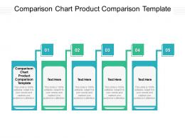 Comparison Chart Product Comparison Template Ppt Powerpoint Presentation Ideas Skills Cpb