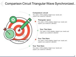 Comparison Circuit Triangular Wave Synchronized Supply Voltage Either Review