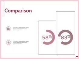 Comparison Dollar Finance E47 Ppt Powerpoint Presentation Infographic Template Professional