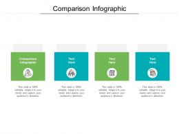 Comparison Infographic Ppt Powerpoint Presentation File Background Designs Cpb