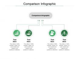 Comparison Infographic Ppt Powerpoint Presentation File Show Cpb