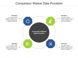 Comparison Market Data Providers Ppt Powerpoint Presentation Styles Cpb