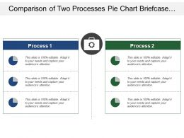 comparison_of_two_processes_pie_chart_briefcase_with_gear_image_Slide01