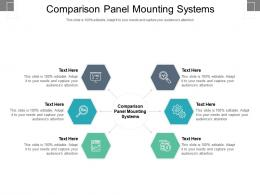 Comparison Panel Mounting Systems Ppt Powerpoint Presentation Ideas Cpb