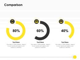 Comparison Percentage Business K286 Ppt Powerpoint Presentation Gallery Portrait