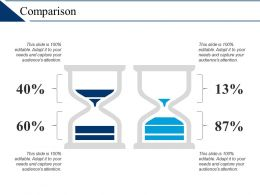 Comparison Percentage F472 Ppt Infographic Template Graphics Download