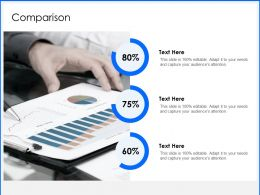 Comparison Percentage I159 Ppt Powerpoint Presentation Portfolio Vector