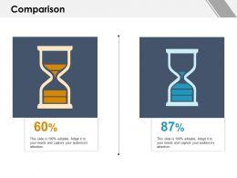 Comparison Percentage I83 Ppt Powerpoint Presentation File Background Images