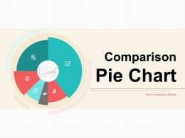 Comparison Pie Chart Arrangement Residential Industry Agriculture Branding Web Design