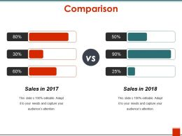 Comparison Powerpoint Layout
