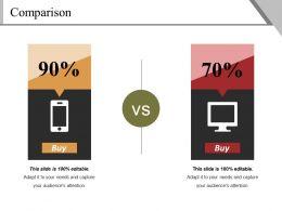 Comparison Powerpoint Slide Introduction