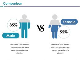 Comparison Ppt File Infographics