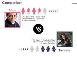 Comparison Ppt Icon Example Topics