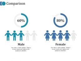 Comparison Ppt Infographics Background Image