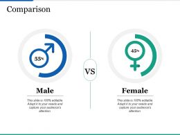 Comparison Ppt Infographics Example Topics