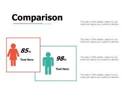 Comparison Ppt Portfolio Skills