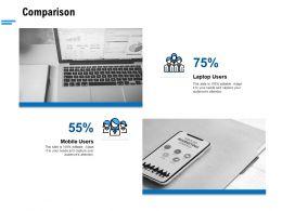 Comparison Ppt Powerpoint Presentation Show Icon