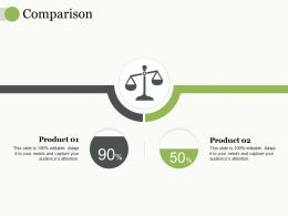 Comparison Ppt Professional Infographic Template