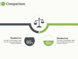 Comparison Ppt Professional Infographic Template
