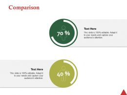 Comparison Ppt Professional Summary