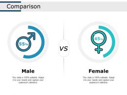 Comparison Ppt Show Infographic Template