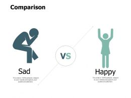Comparison Sad And Happy F790 Ppt Powerpoint Presentation Outline Grid