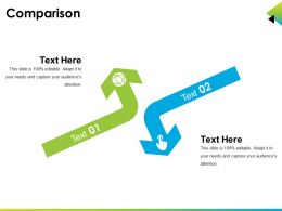 Comparison Sample Presentation Ppt