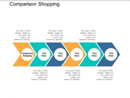 Comparison Shopping Ppt Powerpoint Presentation File Infographic Template Cpb