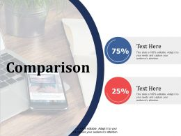 Comparison Strategy Ppt Summary Infographic Template