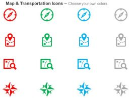 compass_map_location_search_direction_indication_ppt_icons_graphics_Slide02